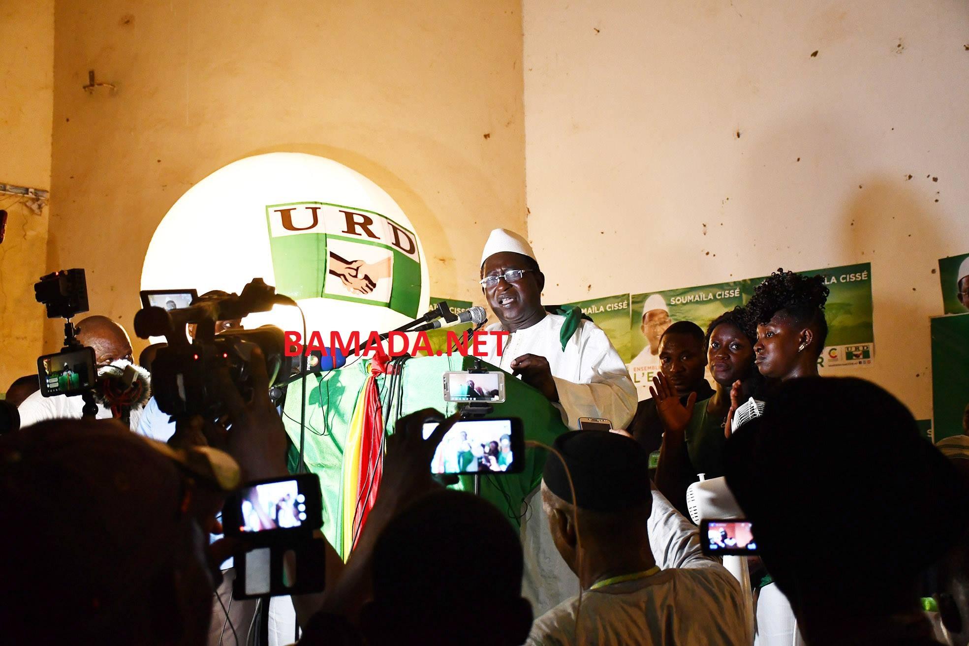 campagne-presidentielle-urd-soumaila-cisse-kayes-espoir-mamadou-hawa-gassama-depute-qg-discours