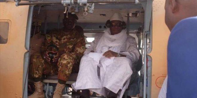 ibrahim-boubacar-keita-ibk-president-avion-militaire-visite-village-peul-koulongon