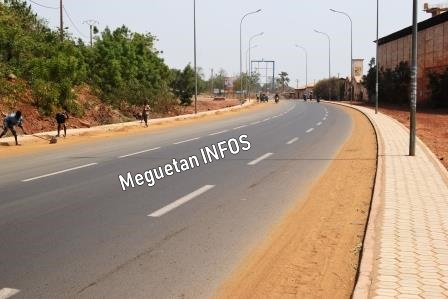 Route-Koulikoro-Bamako