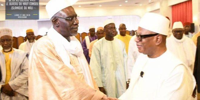 ibk-ibrahim-boubacar-keita-chef-etat-malien-cheick-cherif-ousmane-madani-haidara-president-haut-conseil-islamique-hci