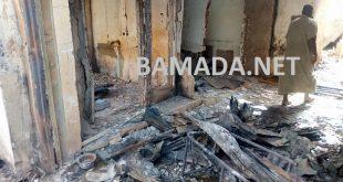 incendie-flamme-grand-marche-rose-bamako-degat-materiel-sinistre-magasin-boutique-mali