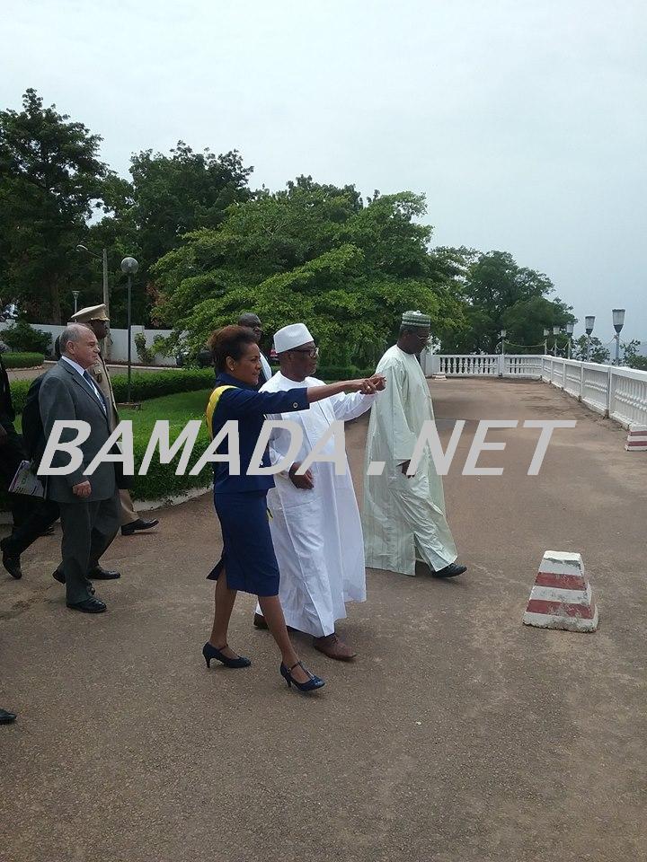 ibrahim-boubacar-keita-ibk-president-malien-michaelle-jean-secretaire-francophonie-oif-coiline-koulouba