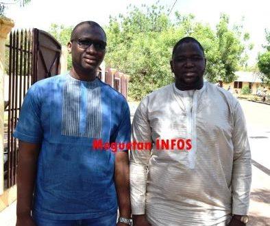 Idrissa Maiga et Boubacar Togo