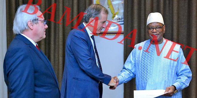 Koulouba: IBK officiellement convoqué à PAU