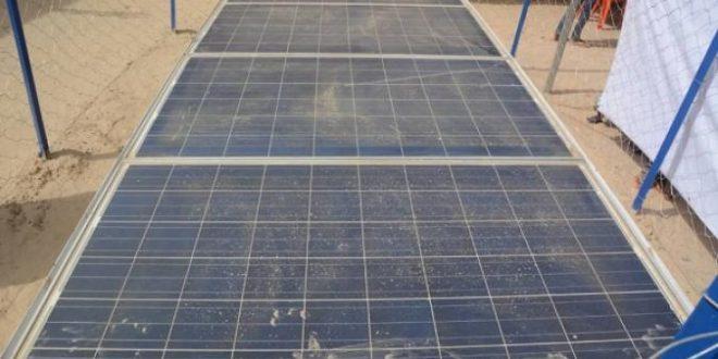 Tombouctou : les FAMa offrent une borne fontaine et des panneaux solaires à l'Eglise Evangélique Baptiste