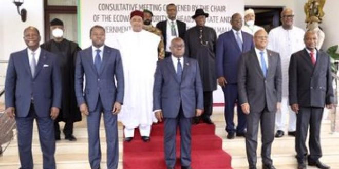 Transition politique au Mali : Vers un bras de fer CNSP/CEDEAO ?