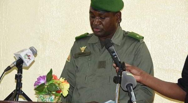Le Chef d'État-Major Général des Armées à Sévaré