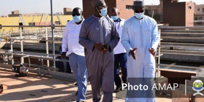 Le ministre en charge de l'Énergie à la station de Kabala : «Je suis venu ici pour comprendre ce qui empêche tout Bamako d'avoir de l'eau»