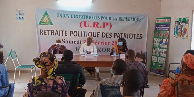 Politique: Le Parti URP en retraite à Koulikoro.